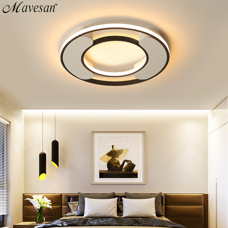 Dining Room Ceiling Light Fixtures: Acrylic Modern Led Ceiling Lights For Living Room Bedroom