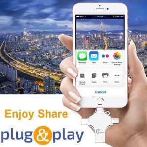 Image 5 - Ingelon USB Flash 256GB Pendrive 128GB Photostick Extra OTG Cle USB Dropship DIY Custom Music Disk On Key 256 GB for USB iphone