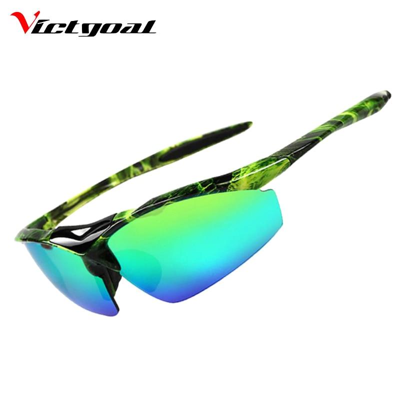 Prix pour VICTGOAL Vélo Lunettes de Protection UV Hommes Femmes Vélo lunettes de Soleil Sport En Plein Air Lunettes De Pêche Courir Vélo Lunettes M1303