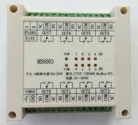 Switch Output Module 8 Relay Output Isolation Type MODBUS RTU RS485 Communication