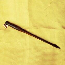 Mejor calidad Rosewood English Copperplate escritura antiguo DIP pen titular oblique caligrafía pluma con brida ajustable