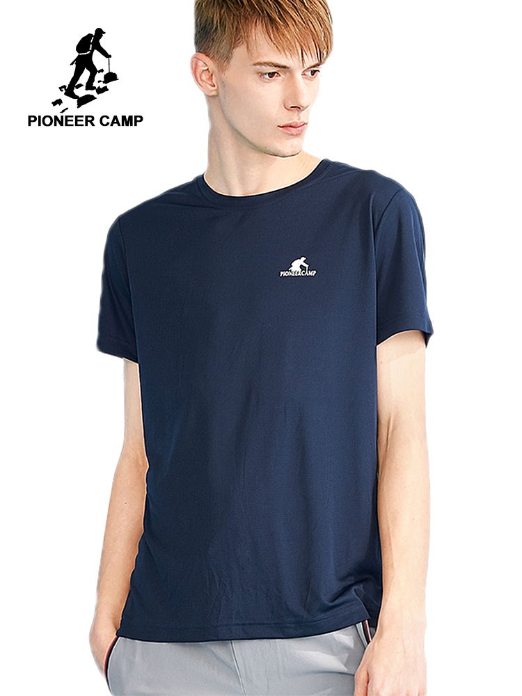 Pioneer camp new summer quick drying t shirt for men brand