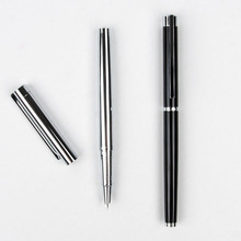 Hot New Jinhao 126 Executive Complete Silver Fine Hooded Nib
