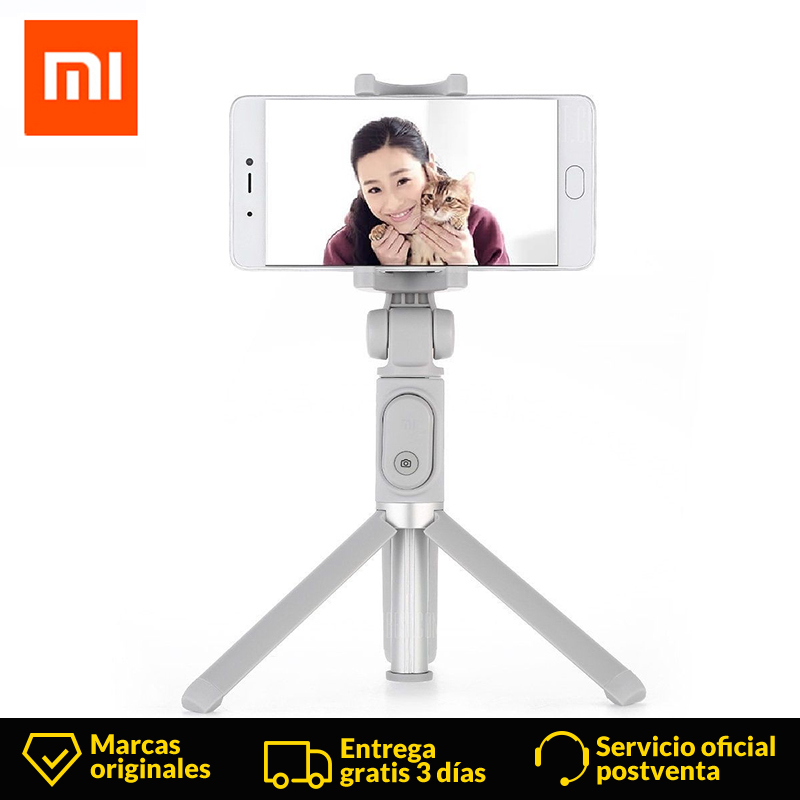 Original Xiaomi Tripod Selfie Stick Bluetooth With Foldable Portable Wireless Shutter Selfie Stick For iPhone Android Xiaomi