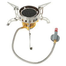 3500W Windproof Outdoor Infrared Stove Cooker Hiking Camping Picnic Gas Stove Infrared Heating Roasting Cookout With Ignition цена и фото