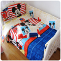 10 Piece /Set 100% Cotton Baby bedding Sets ,Boy And Girl Bedding Sets,Hot Sales!