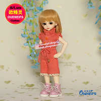 BJD SD Doll Clothes 1/6 Jumpsuit Summer Style Romper Four color For AI Body YF6-97 Doll Accessories