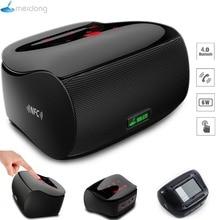 Altavoces Meidong Mini Altavoz Bluetooth Estéreo Subwoofer Inalámbrico Portátil Amplificador de la Computadora Del Teléfono de Pantalla Táctil de 3.5mm Mic