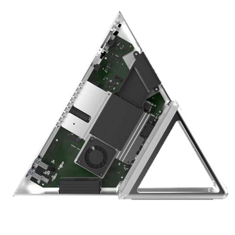 Intel Apollo N3450 Quad Core Mini Computer Triangular 8GB RAM+64GB Multi-ports Energy Saving Multifunctional Mini PC EM88