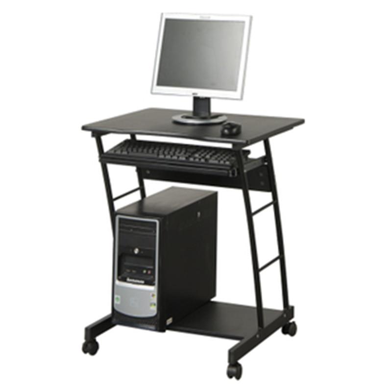 Mobile Notebook Desktop Computer Desk Folding Students Learning Table Simple Adjustable Computer Desk With Wheel
