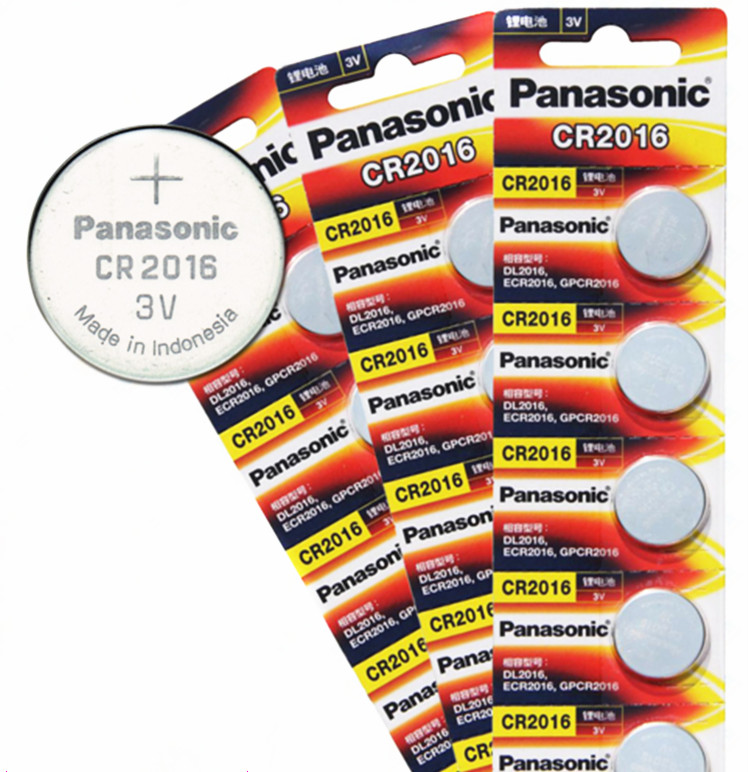 цена на 15 X original brand new battery for PANASONIC cr2016 3v button cell coin batteries for watch computer cr 2016