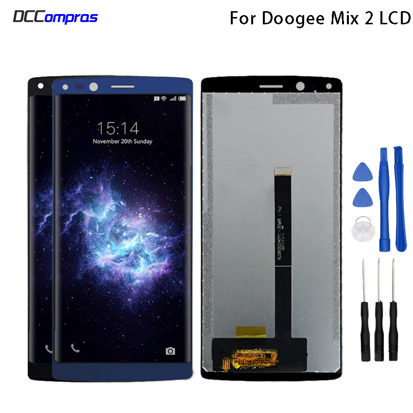 Original For Doogee Mix 2 LCD Display and Touch Screen 5.99 Inch For Doogee Mix 2 Mobile Phone Accessory Phone Parts Free ToolsOriginal For Doogee Mix 2 LCD Display and Touch Screen 5.99 Inch For Doogee Mix 2 Mobile Phone Accessory Phone Parts Free Tools