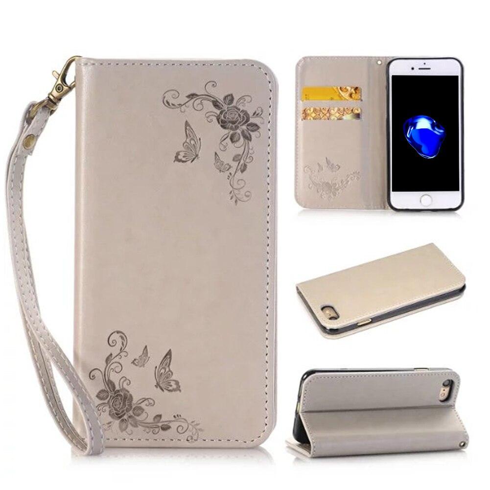 Cover custodia portafogli in similpelle per Apple iPhone 4/4S con