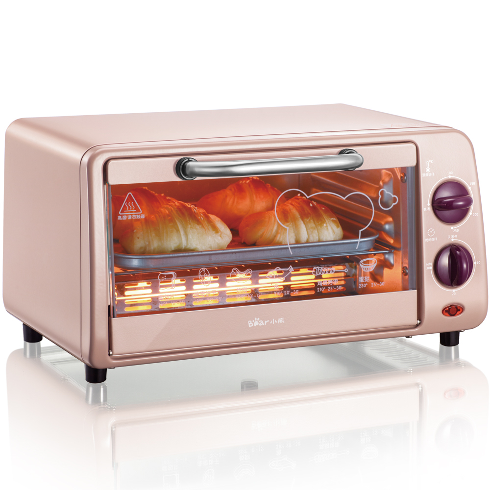 220V 9L Mini Household Electric Oven Biscuits Bread Cake Pizza Baker Machine Multifunctional Baking Machine EU/US/BS Plug jiqi electric baking pan double side heating household cake machine flapjack pizza barbecue frying grilling plate large1200w