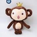 Корона обезьяна кукла плюшевые игрушки обезьяна Обезьяна талисман творческий Новый Год подарок