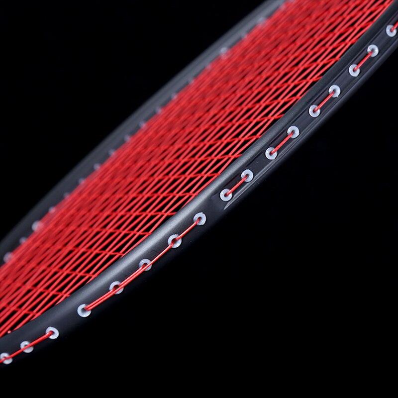 Graphite Single Badminton Racquet Professional Carbon Fiber Badminton Racket With Carrying Bag FG66