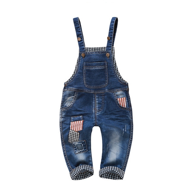 b514087738c9 1-4T Kids Denim Overalls Baby Pants Bebe Clothes Girls Boys Jeans Jumpsuit  Children Rompers Toddler Clothing Baby bib Overalls