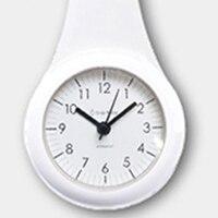 Nordic Bathroom Wall Clock Kitchen Chucking Waterproof Sucker Best Selling 2018 Products Kids Silent Saat Decorative Home 50Q079
