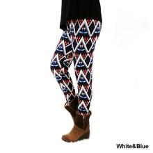 1064fashion womens bottoms high elastic pants capris comfortable plus leggings american style popular print free shipping xxl