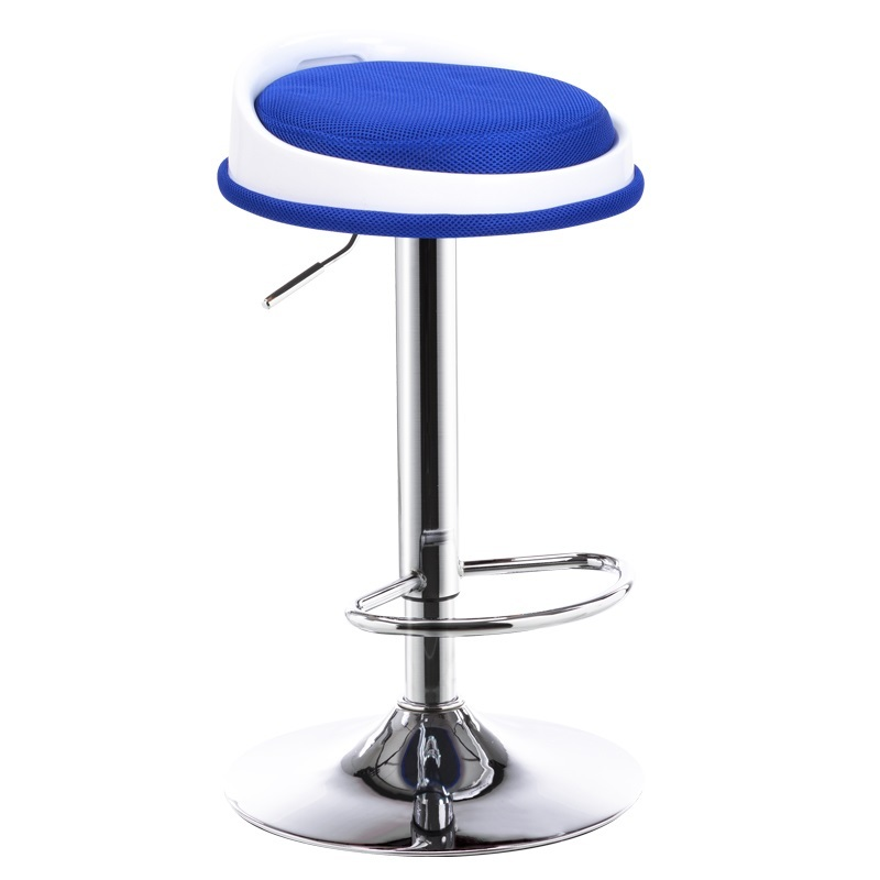 blue color bar stool children change shoes chair cafe house living room chair stool home bedroom chair ktv bar chair pe rattan seat cafe house stool living room children chair blue green color study stool free shipping