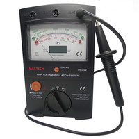 MS5202 Digital Analogue High Voltage Insulation Meter Tester Digital Dual Measuring Switch Inner Battery Test