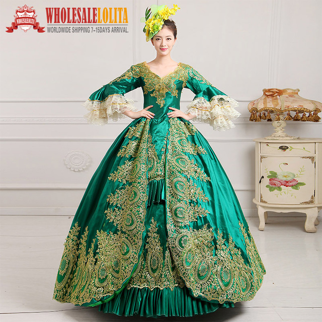 75d332c0eb349 Victorian Gothic Period Dress Ball Gown 18th Century Court Dress / Ladies' Victorian  Dresses /Southern Belle Ball Gown