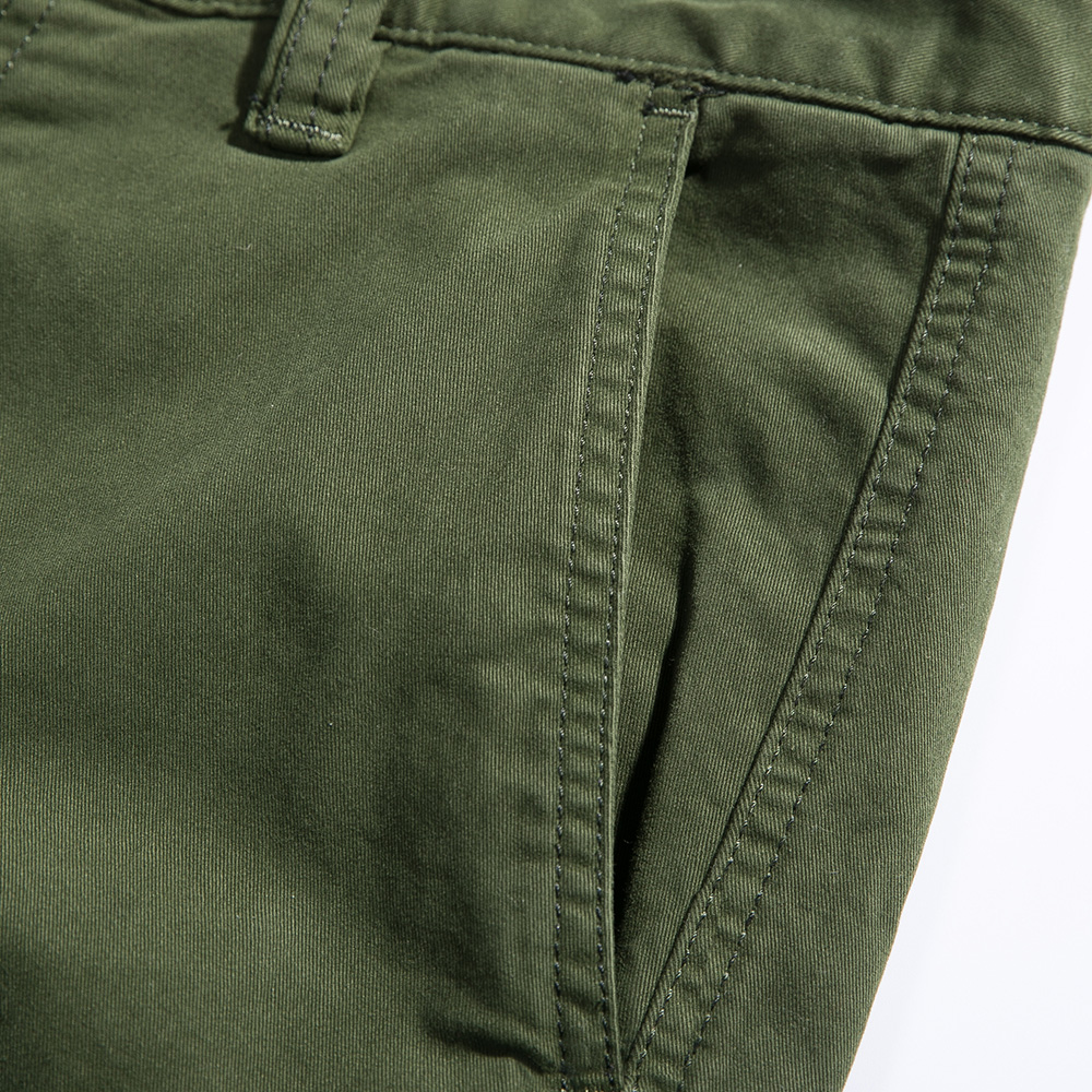 2018 New Men Cargo Pants army green big pockets decoration mens Casual trousers easy wash male autumn army pants plus size 38 - 4