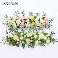 JAROWN Simulation Plant Flower Row Flower Wall Wedding Arrangement Decor DIY Pavilion Decor Arch Flowers Window Showcase Flores