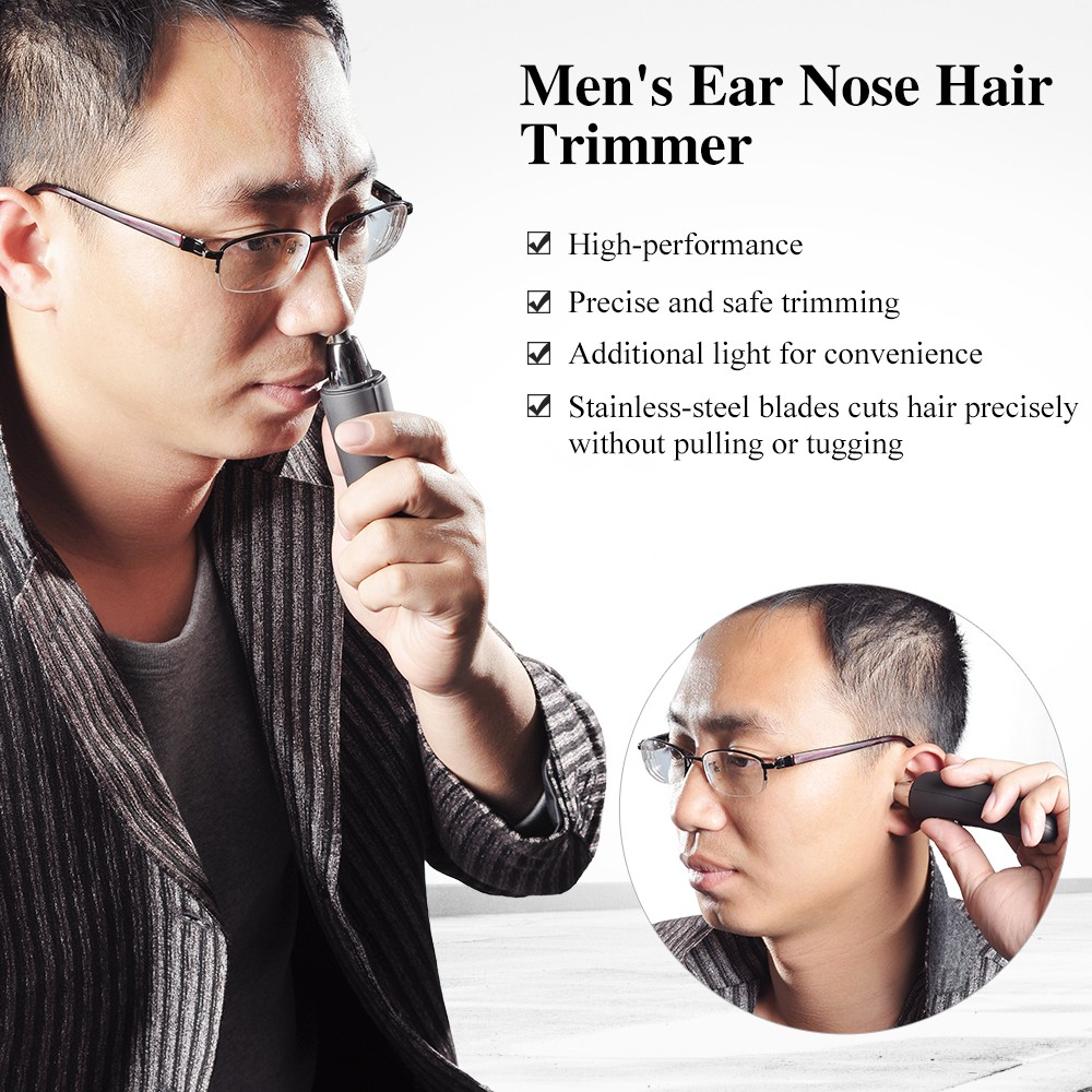 TOUCHBeauty aparador de pêlos do nariz, máquina