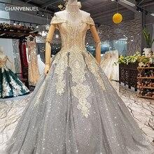 LS657700 anziano grigio lucido madri di brides wedding party dress off  spalla sweetheart abito da sera con glitter e di cristall. 226bef842ef5