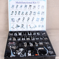 Binnenlandse Naaimachine Naaivoet Voeten Kit Set Met Doos Brother Singer Janom Naaimachines Voet Gereedschap Accessoire Naaien Tool