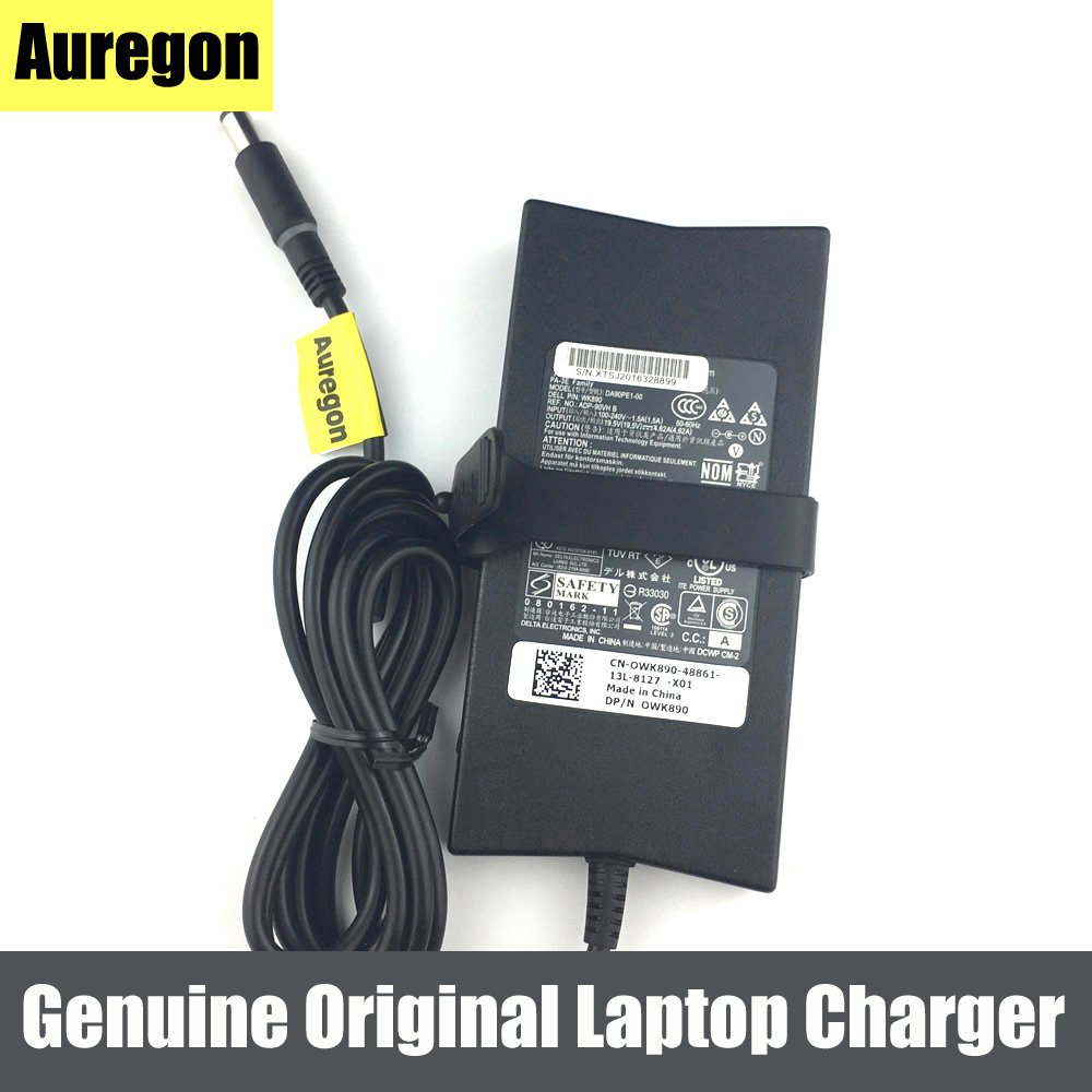 Laptop Adapter Genuine Original 90w 19.5v 4.62a Battery Charger For Latitude 13 505 D540 E6430s X300 Precision M65 Laptop Accessories