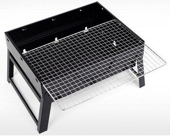 Stove outdoor barbecue grill,GaiaBBQ A68,charcoal barbecue grill thickened Folding outdoor barbecue box churrasqueira para fogão