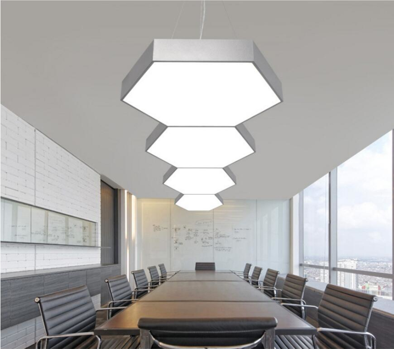 Commercial Led Office Lighting: Northern Europe Modern Commercial LED Pendant Modern