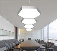 Northern Europe Modern Commercial LED Pendant Modern Chandelier Home Saloon Office Hanging Linear Lamp LED Pendant Lighting