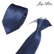 Classic 8 Cm Tie for Man 100% Silk Luxury Striped Business Neck Men Suit Cravat Wedding Party Necktie