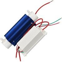 El más nuevo Kit 220 v 7g Generador de Ozono Tubo De Cuarzo de Ozono Purificador de Agua Esterilizador Ozon Ozonizador de Agua