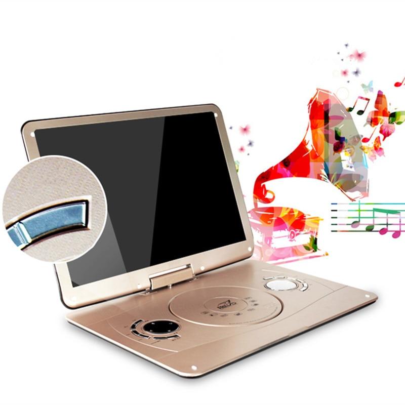 Portativ DVD 18.8 INCH 3d mobil dvd evd portativ EVD pleyer hd VCD - Evdə audio və video - Fotoqrafiya 5