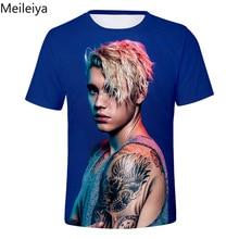 Music Star Justin Bieber 3D T-shirt Men/Women Tshirt Print Idol Tees Tops Boys/Girls T shirt Cool Shirts Top Clothes