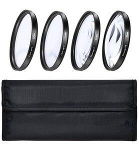 Image 3 - Juego de filtros de primer plano de 46mm y funda del filtro (+ 1 + 2 + 4 + 10) para objetivo Nikon Z50 w/ 16 50mm/Olympus PEN F w/ M. Lente Zuiko 17mm F1.8