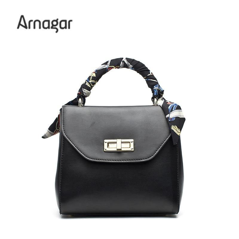 Arnagar 2017 women genuine leather bags luxury handbags women bags designer famous brands women messenger bags leather tote bag