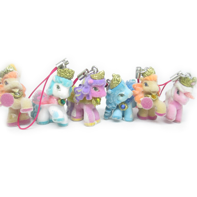 10 Pcs/lot Plush Unicorn Key Chains Animal Horse Keychain Pendant Key Holder Accessories Kigurumi For Kids Toys Girl Woman Gift