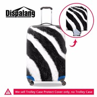 Dispalang Brand Animal Fur Pattern Protective Luggage Cover Trolley Suitcase Elastic Dust Rain Cover Portable Travel