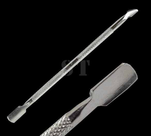 Nieuwe Cuticle Nail Art gereedschap Pusher Spoon Remover Pedicure Cutter Cut Verwijder