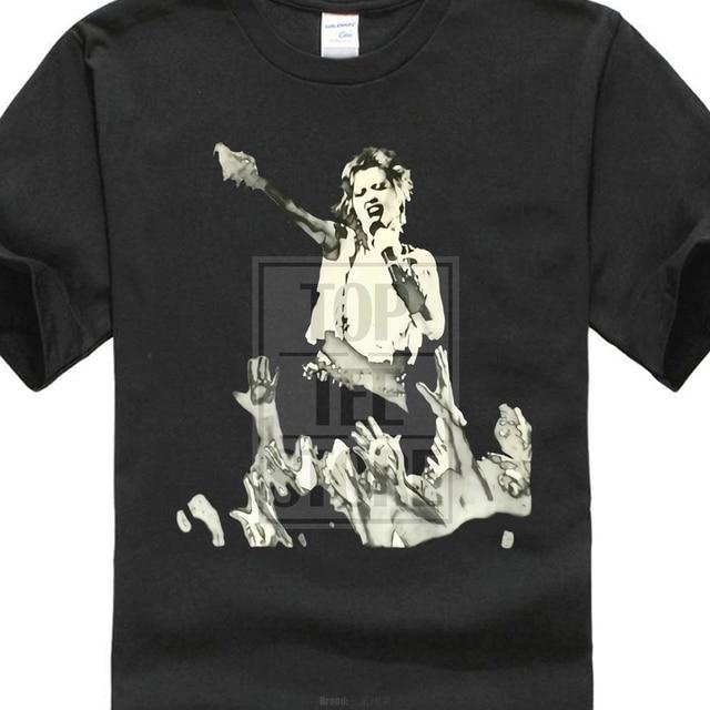 Cheap Graphic T Shirts Cyndi Lauper Black And White Live Mens Black T Shirt  New Official Yellow Mens T Shirt 044d785f2522