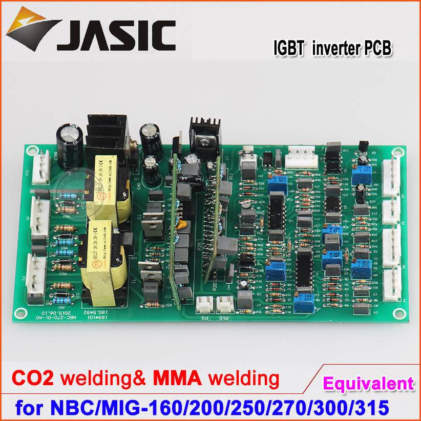 Jasic type NBC/MIG-160/200/250/270/300/315 welding machine control board with CO2 ,MMA welding mig wire feeder motor 76zy02a dc24v 18m min for mig welding machine