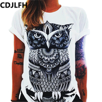 CDJLFH 2017 Summer Fashion Blouses Women's Shirt Plus Size Harajuku Blusas Femininas Tops Short Sleeve Casual Women Blouse