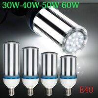 2015 New Brightness 30W/40W/50W/60W E40 AC85 265V White/ Warm White SMD Corn Bulb LED Corn Light LED Buld Spotlight Lamps