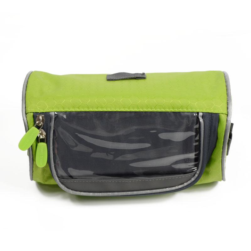 Wodoodporny Ekran Dotykowy Sakwy Rowerowe Rower Górski Rower Torby Phone Bag Case Rower Szosowy Rura Przednia Kierownica Torba Cylindra 28