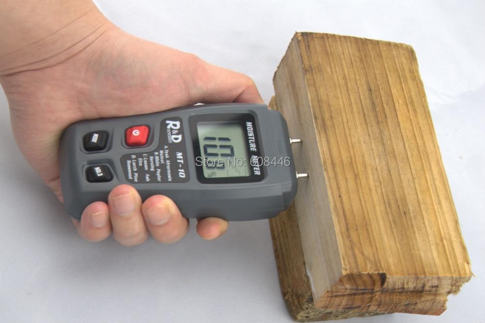 Igrometri Tester per misuratore di umidità in cartone di carta in - Strumenti di misura - Fotografia 2